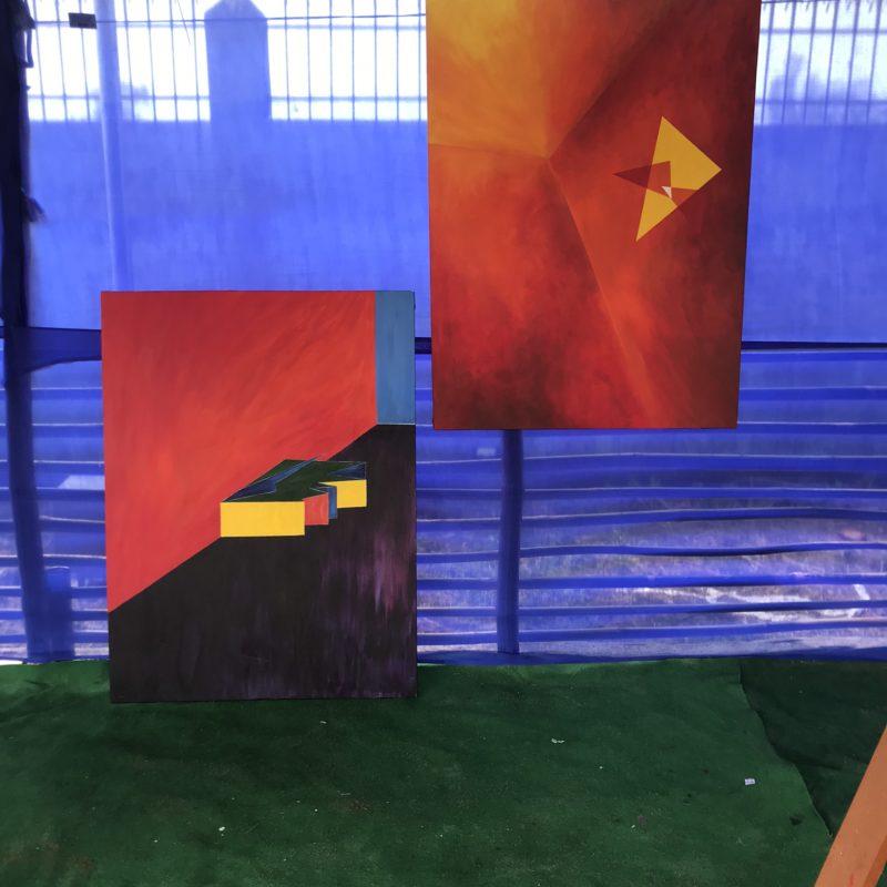 International painting symposium / Kokrajhar (India)